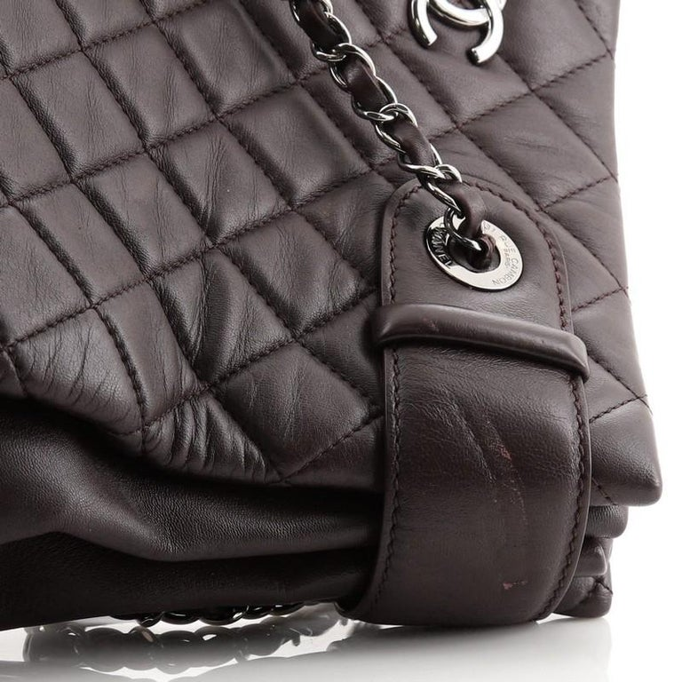 Chanel Coco Loop Tote Quilted Lambskin Small For Sale 4
