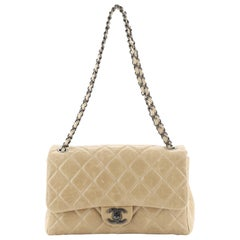Chanel Coco Soft Flap Bag Quilted Glazed Calfskin Jumbo