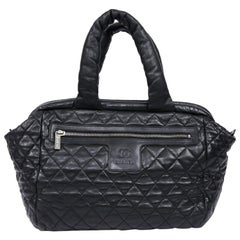 Chanel Cocoon black Leather Bag