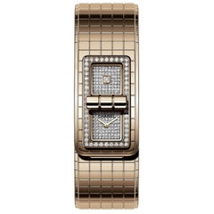 Chanel Code Coco Watch Beige Gold and Diamonds, H5146