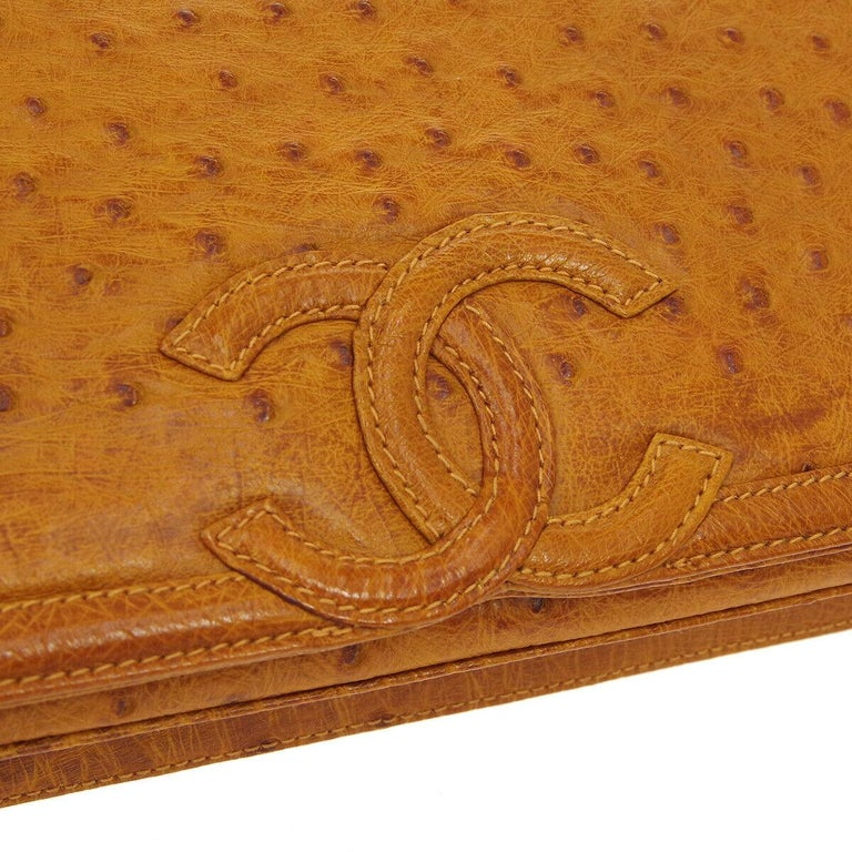 The Exotic Chanel to Complete Your Collection.  Since announcing the discontinuation of exotic skin handbags, the demand for exotic Chanel has increased tenfold.  And the demand for ostrich Chanel is no exception.   Crafted of exotic ostrich skin in