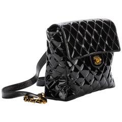 Chanel Collectible 1990's Vintage Black Backpack Bag