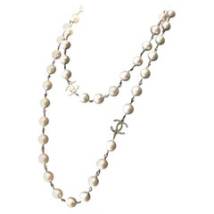 CHANEL Collector Pearl Necklace