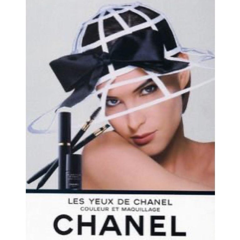 Chanel Collectors Black Silk Bow Hat Runway 1992  For Sale 5