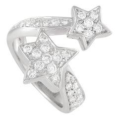 Chanel Comète Géode 18k White Gold Diamond Ring