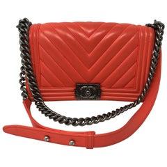 Chanel Coral Boy Bag