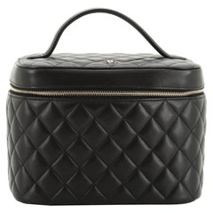 Chanel Cosmetic Case Quilted Lambskin Small