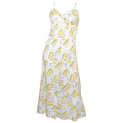 Chanel Cotton Sorbet Print Sundress NWT 2004 C