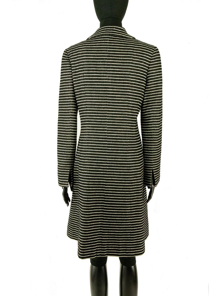 Women's Chanel Cruise 2001 Striped Coat For Sale