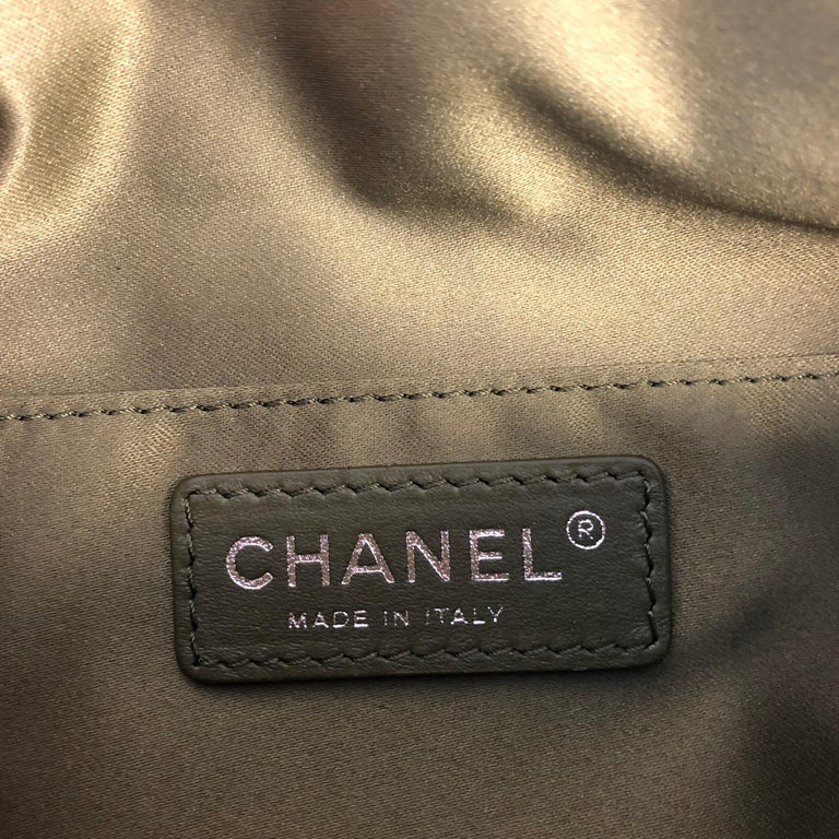 CHANEL Cruise 2017 Quilted Coco Cuba Charms Khaki Waist Bag Fanny Pack For  Sale 4 0e297a79e5d94