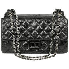 CHANEL Crumpled Leather Bag