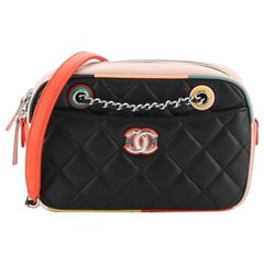 Chanel Cuba Camera Bag Quilted Lambskin Small