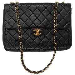 Chanel Dark Brown Jumbo Flap Bag
