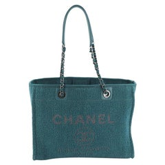 Chanel Deauville Tote Boucle Small
