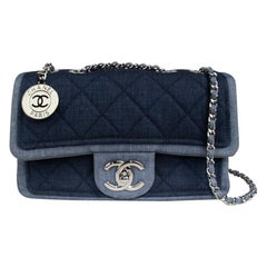 Chanel Denim Classic Flap Bag