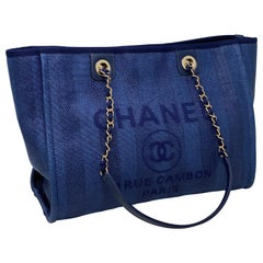 Chanel Denim Deauville Tote
