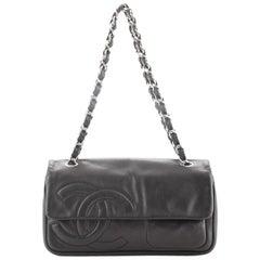 Chanel Diagonal CC Flap Bag Lambskin Small