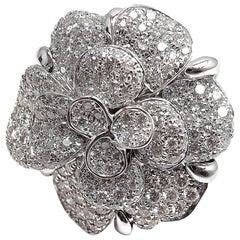Chanel Diamond Camelia Ring
