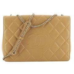 Chanel Diamond CC Flap Bag Quilted Lambskin Medium