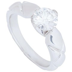 Chanel Diamond Coco Crush Engagement Ring 1.03 Carat F/VS1 GIA Certified