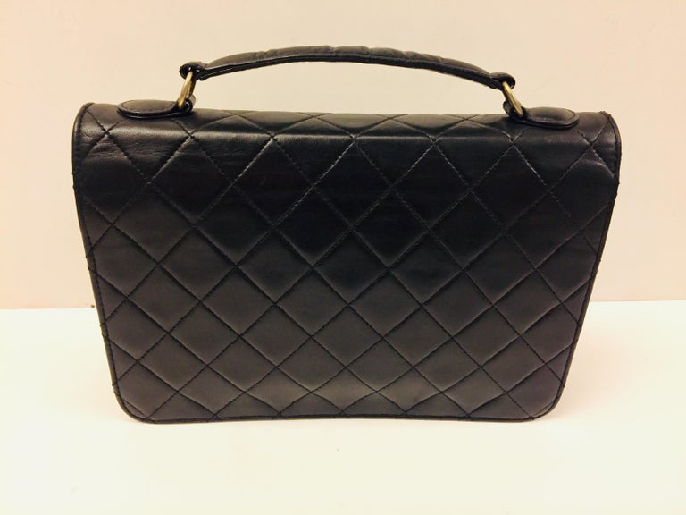 "Chanel Double ""CC"" shoulder bag In Excellent Condition For Sale In Sheung Wan, HK"