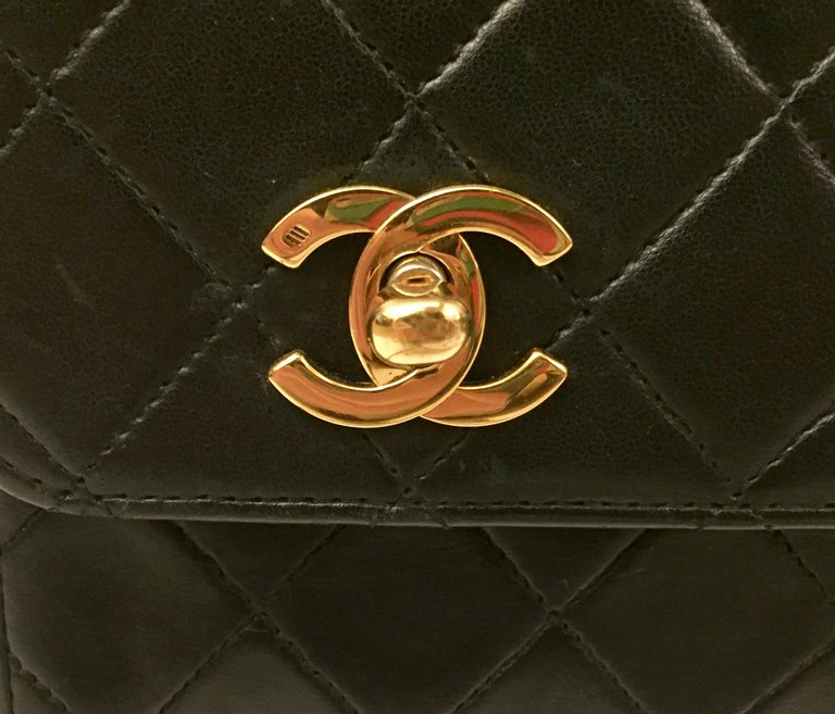 "Chanel Double ""CC"" shoulder bag For Sale 2"