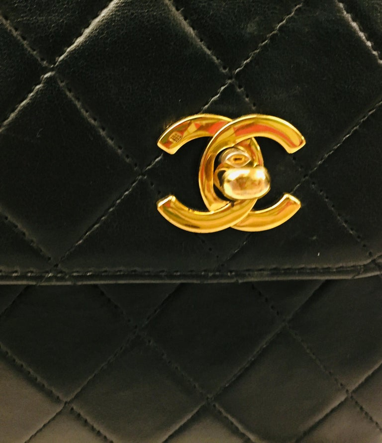 "Chanel Double ""CC"" shoulder bag For Sale 4"