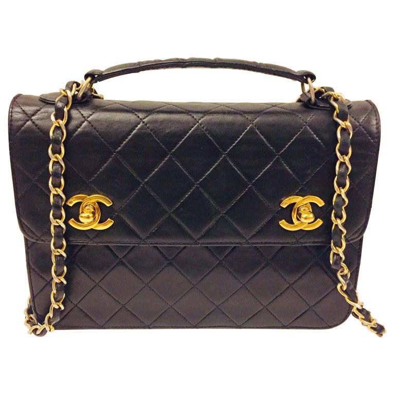 """Chanel Double """"CC"""" shoulder bag For Sale"""