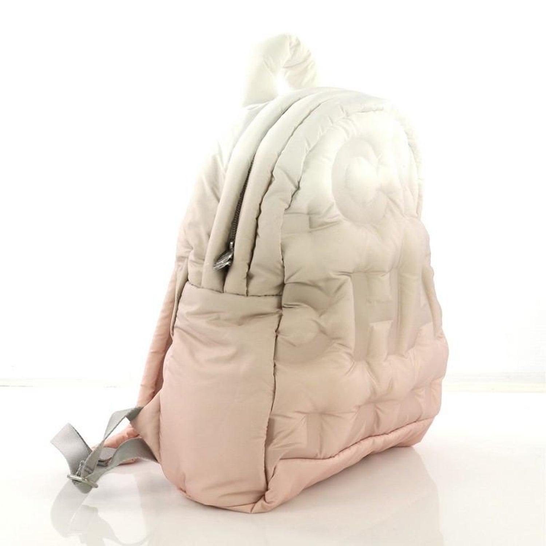 1d62fb21faac Chanel Doudoune Backpack Embossed Nylon Medium at 1stdibs