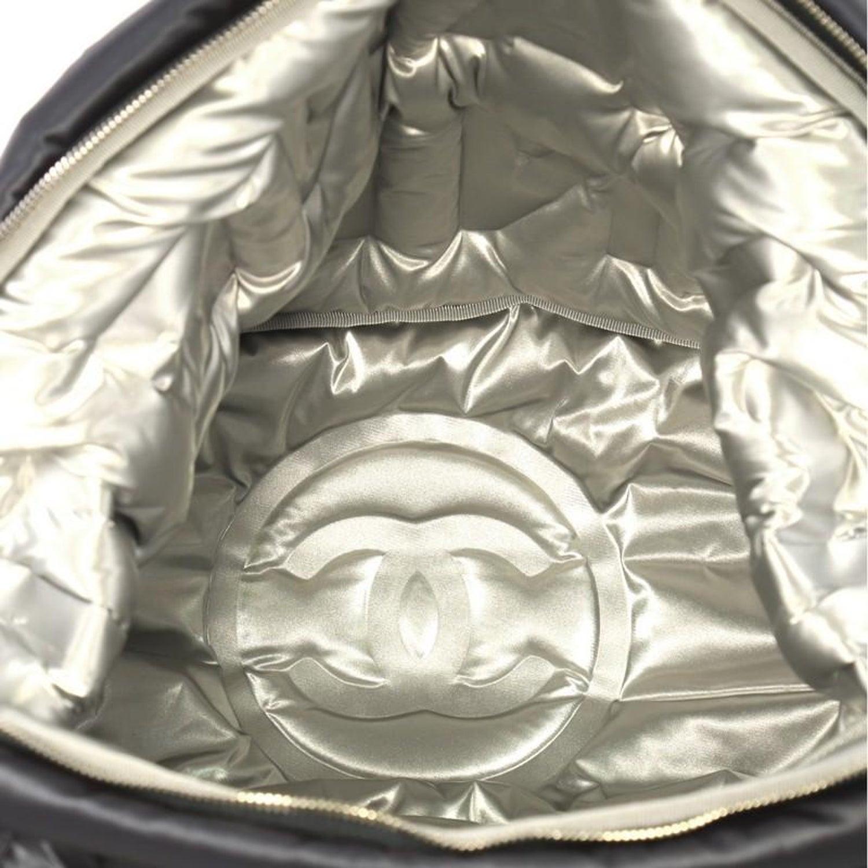 643cb28290824c Chanel Doudoune Bowling Bag Embossed Nylon Large at 1stdibs