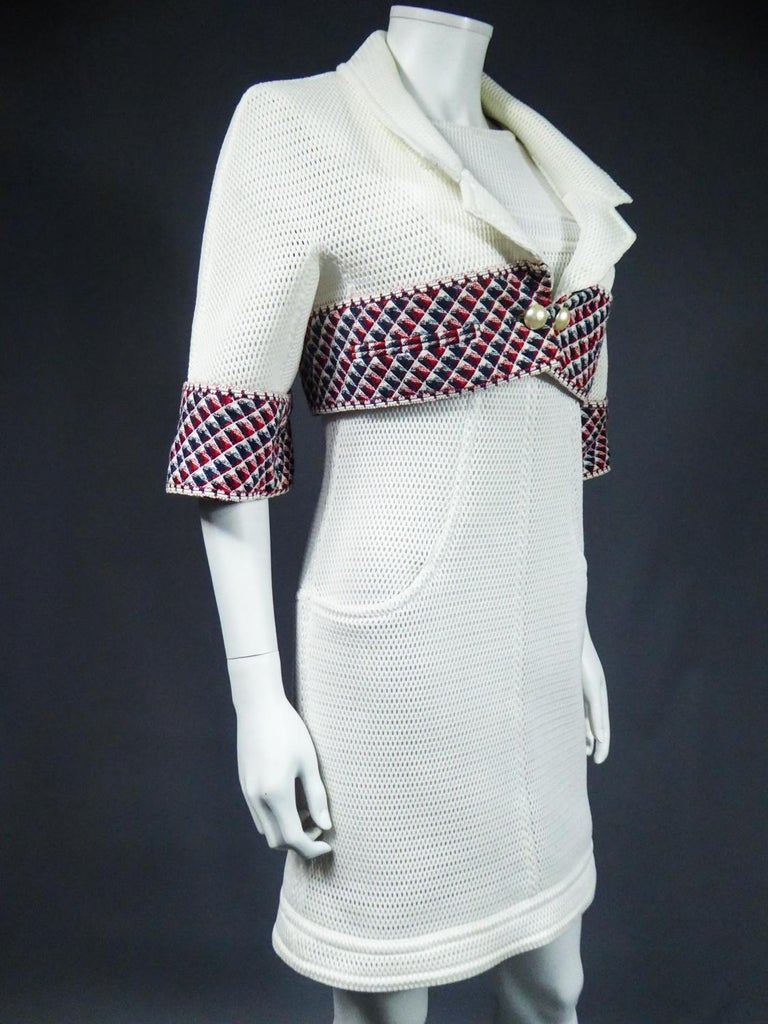 Chanel Dress and Bolero - Karl Lagerfeld Spring Summer 2013 Collection For Sale 5