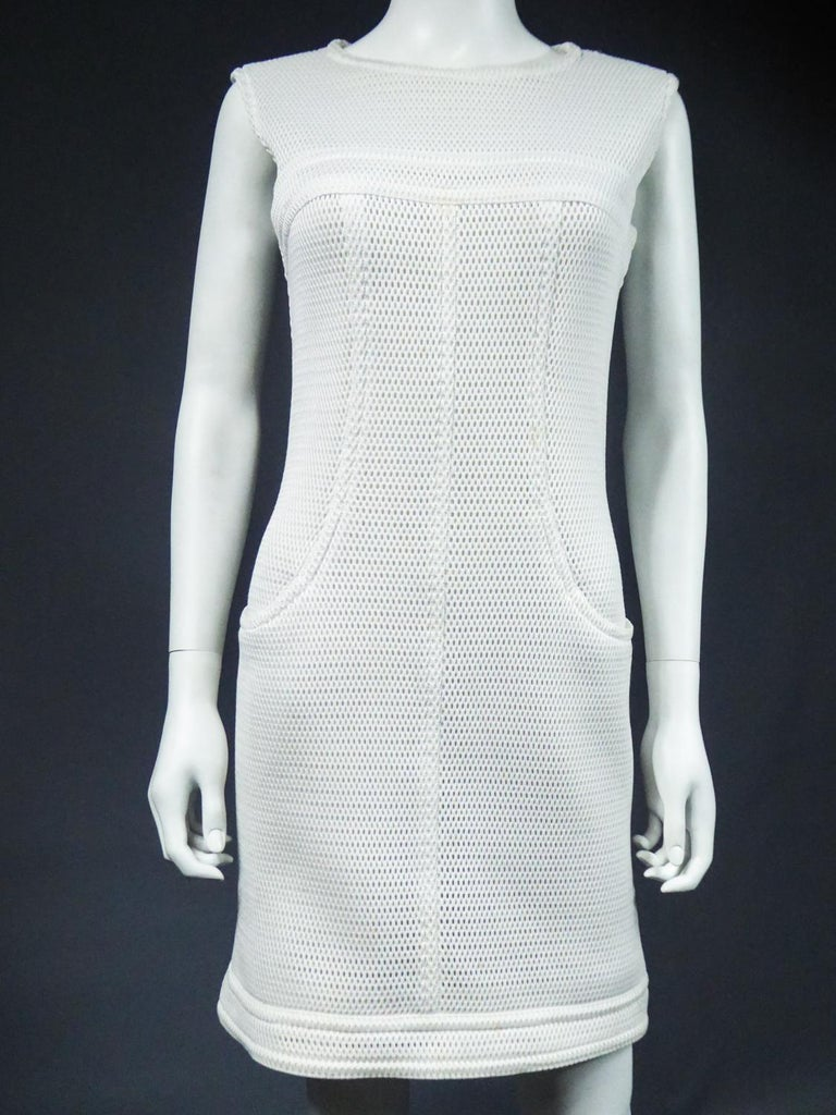Chanel Dress and Bolero - Karl Lagerfeld Spring Summer 2013 Collection For Sale 8