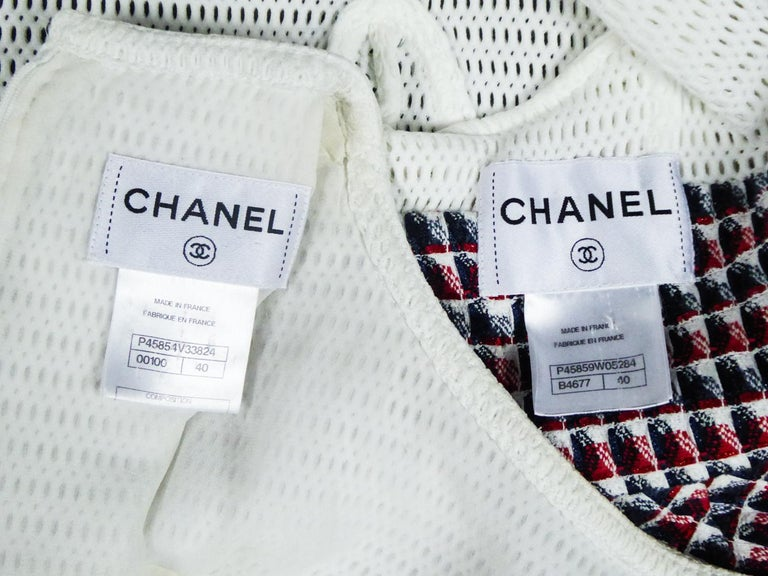 Gray Chanel Dress and Bolero - Karl Lagerfeld Spring Summer 2013 Collection For Sale