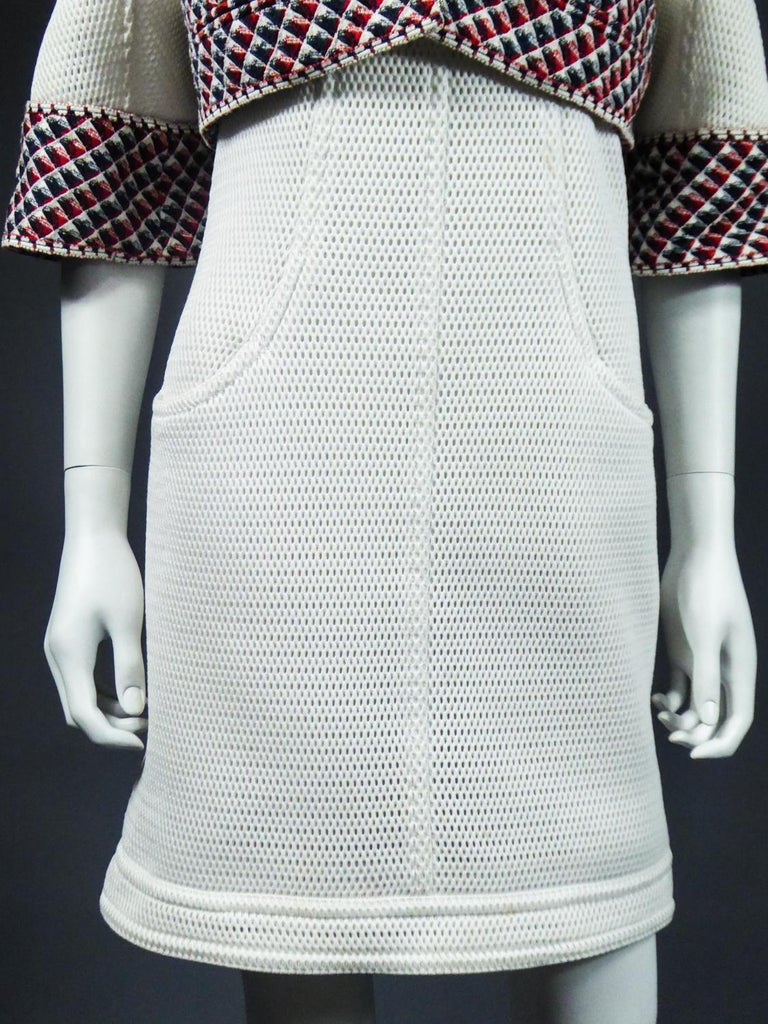 Chanel Dress and Bolero - Karl Lagerfeld Spring Summer 2013 Collection For Sale 4