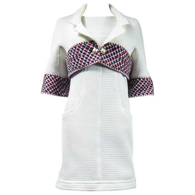 Chanel Dress and Bolero - Karl Lagerfeld Spring Summer 2013 Collection For Sale