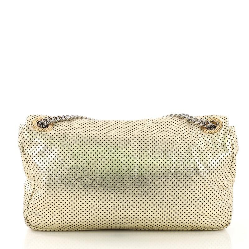 7083ee970eda Chanel Drill Flap Bag Perforated Leather Medium at 1stdibs