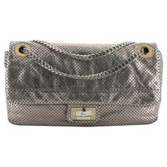Chanel Drill Flap Bag Perforated Leather Medium