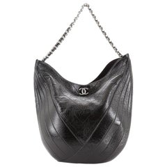 Chanel Droplet Hobo Patent Medium
