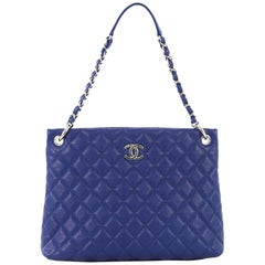 Chanel Easy Tote Quilted Caviar Large