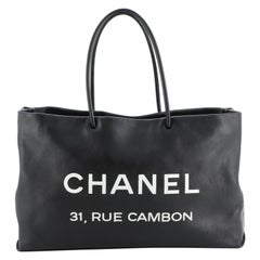 Chanel Essential 31 Rue Cambon Shopping Tote Leather Medium