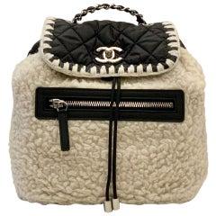 Chanel Fall Winter 2018 Wool Coco Neige Backpack