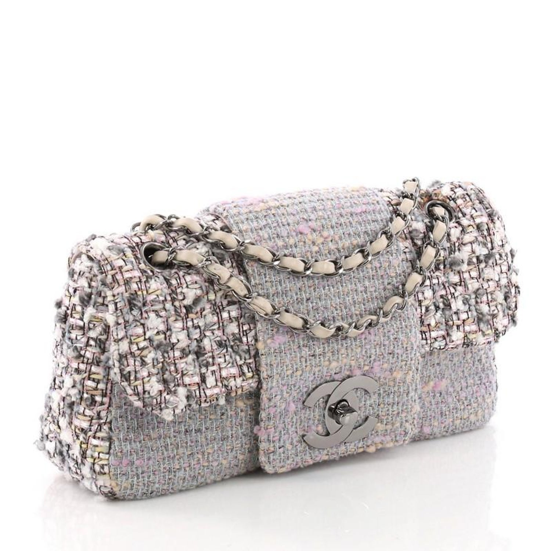 870d87e01966 Chanel Fantasy Flap Bag Tweed Medium at 1stdibs
