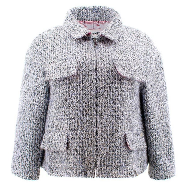 Chanel Fantasy Tweed Jacket with Lame