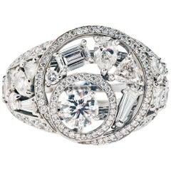 Chanel Fine Jewelry Cosmos Diamond Ring