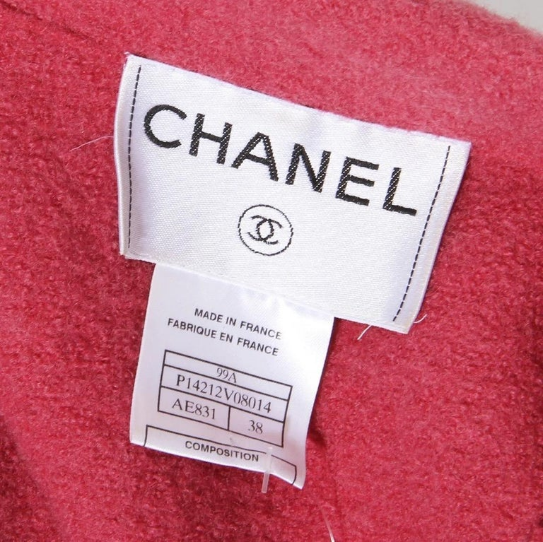 Chanel Fitted Wool Blazer (Karl Lagerfeld) For Sale 1