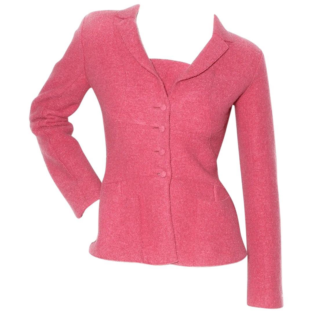 Chanel Fitted Wool Blazer (Karl Lagerfeld)