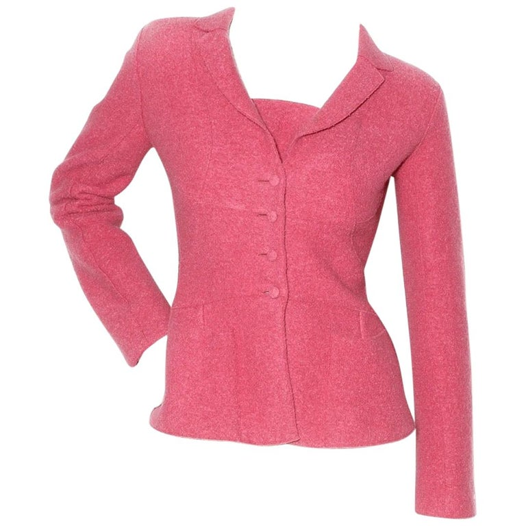 Chanel Fitted Wool Blazer (Karl Lagerfeld) For Sale