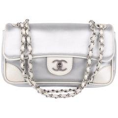 Chanel Flap Bag - silver