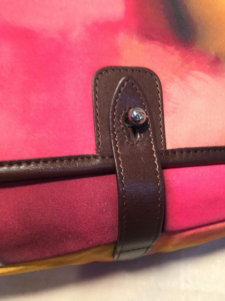 Chanel Flower Power Messenger Multicolor Nubuck Crossbody Shoulder Bag For Sale 1
