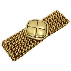 Chanel Four Leaf Clover Chain Bracelet